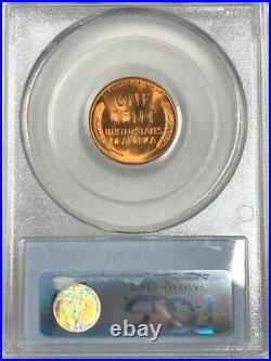 1955 S PCGS MS67 RD Lincoln Wheat Cent 1c EXCEPTIONAL TOP POP CHERRY RED GEM