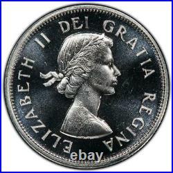 1964 Canada 25 Cent Quarter Top Pop & 1st Cameo Graded By Pcgs Pl66cam