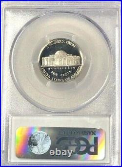 1977 S PCGS PR70 Deep Cameo Jefferson Nickel 5c Frosted Cameo RARE TOP POP
