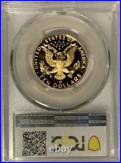 1984-W First-Modern G$10 Dollars Torch-Bearers-Eagle Rare PCGS-PF70DCAM Top-Pop