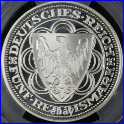 1987 Germany 5 Reichsmark Federal Republic PCGS PR69DCAM (Top Pop!)