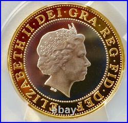 2004 SILVER PROOF £2 Two Pound STEAM LOCOMOTIVE PCGS PR69 DCAM TOP POP