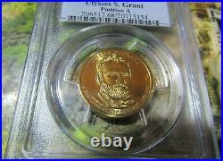 2011-D Ulysses S. Grant PCGS MS68 position A (Top Pop)