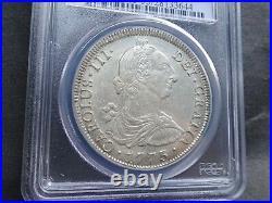 Bolivia, Hispan 8 Reales 8R 1773 PTS, PCGS AU55 TOP POP