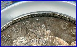 C9169- 1878 7tf R78 Vam-70 Doubled Rib Top 100 Morgan Pcgs Ms64 Pcgs Pop 12/1