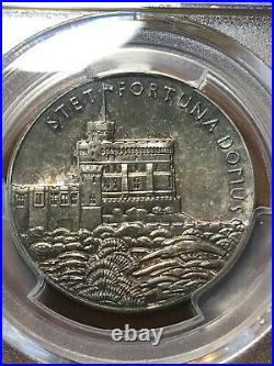 GREAT BRITAIN 1935 SILVER GEORGE V MEDAL EIMER 2029b PCGS SP65 Top Pop 1/0