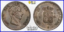 Kingdom of Holland 1 Gulden 1809 Louis Napoleon PCGS MS65 Fleur de Coin Top Pop