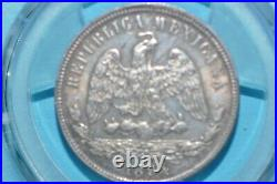 Mexico silver 50 Centavo 1894 Ho G PCGS MS63 Top Pop Ho either service