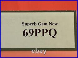 Mpc Series 681 $10 In Super Monster PCGS 69PPQ Top Pop 1/0