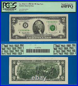 TOP POP 1/0 1995 $2 FRN (Finest Known Atlanta STAR) PCGS 69PPQ # 568058