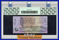 TT PK 50a 1992 AUSTRALIA 5 DOLLARS QUEEN ELIZABETH II PCGS 68 PPQ TOP POP
